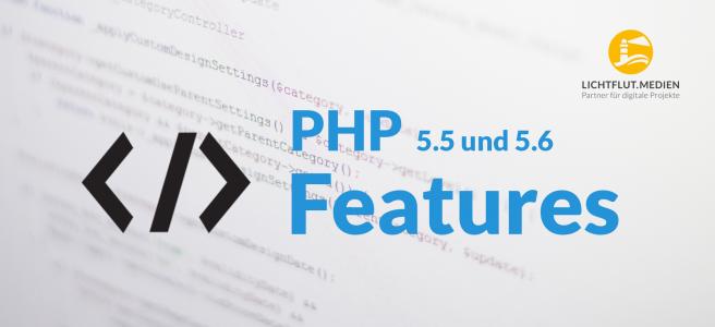 PHP 5.5 und 5.6