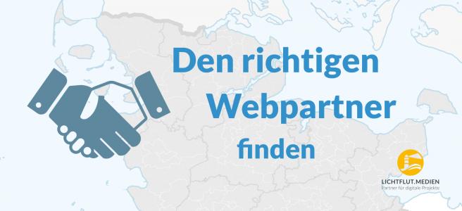 Webpartner finden